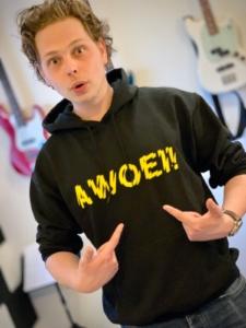 Awoei! hoodie